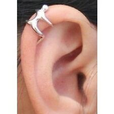 Silver Climbing Man Naked Climber Ear Cuff Helix Cartilage Earring