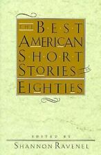 The Best American Short Stories of the 80s  Paperback