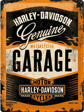 Harley-Davidson Garage, Chopper Motorcycles Logo, Large 3D Metal Embossed Sign