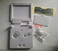 Y White Full Housing Shell Case Cover Part f Nintendo GBA SP Gameboy Advance SP