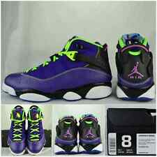 "2013' Air Jordan 6 Rings Bel-Air ""Court-Purple/Pink/Flash-Lime"" Sz 8 Rare Nike"
