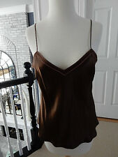 J Crew silk satin camisole top in size M