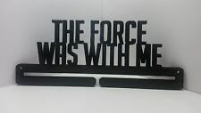 STAR WARS RACE MEDAL DISPLAY HOLDER HANGER MEDAL RACK 5K 10K HALF MARATHON