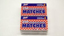 Wooden Kitchen Matches 1000 Strike On Box Quality Home Camping Campfire Hiking