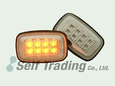 96-02 Toyota Land Cruiser Prado 90 95 Clear 16-LED Side Marker Turn Signal Light