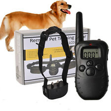 Electronic Dog Collar Remote Control  With Display Electronic Dog Collar
