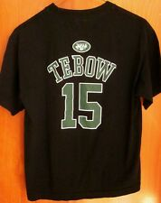 NEW YORK JETS quarterback Tim Tebow youth lrg T shirt football tee 2012