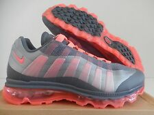WMNS NIKE AIR MAX 95+ BB DARK GREY-HOT PUNCH-WOLF GREY SZ 11 [511308-061]