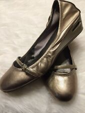 Cole Haan Women's Shoes Nike Air sz 8.5 Gold Mary Jane