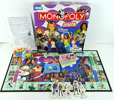 Monopoly Junior Edition Disney Hanna Kim Possible, Missing 3 Figures ONLY