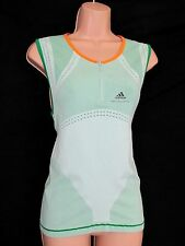 STELLA McCARTNEY FOR ADIDAS FAB TOUGH WORKOUT GREEN DRY FAST TANK TOP 12