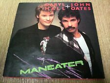 "DARYL HALL + JOHN OATES MANEATER 7""VINYL SINGLE 1982"