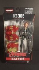 Avengers Marvel Legends black widow series Hulkbuster uk exclusive