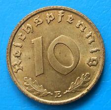 Allemagne Germany 3rd Reich 10 reichspfennig 1938 E km 92 UNC