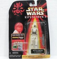 FAKE/FALSO-STAR WARS-figura di BATTLE DROID- cm. 10 - articolato