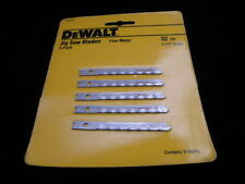 "New DEWALT DW3616 Jig Saw Blades 5 pack 32 TPI 2-3/4"" length  *BNIB"