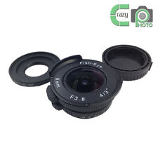 "8mm f/3.8 MFT 4/3"" Fisheye CCTV Lens for Nikon 1 J1 V1 V2 AW1 J4 Bundled Adapter"