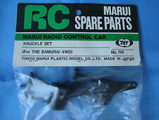 BRAND NEW MARUI KNUCKLE SET For THE SAMURAI 4WD Part No:119 Made in JAPAN