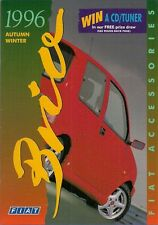 Fiat Accessories 1996 UK Brochure Cinquecento Punto Bravo Brava Barchetta Coupe