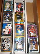 2012 Bowman Base Chrome Draft and Inserts 1466 Card Lot