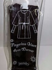 BNIB Designer LAUNDRY BY SHELLI SEGAL Fingerless Glove Arm Warmer