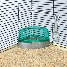 Trixie Corner toilet potty with roof and litter scoop for Hamsters Mice Gerbil