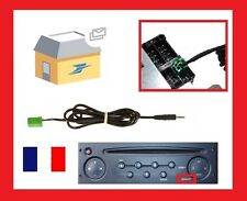 Cable auxiliaire mp3 autoradio RENAULT UDAPTE LIST 6 pin, twingo , espace 4,clio