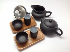 Yixing Black Zisha Teapot Tea Set 9pcs Best Seller Set