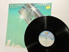 Ike Turner The Edge Original lp rare Fantasy Holland print 1980  nr MINT vinyl