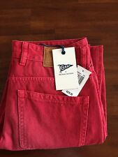 GANT BY MICHAEL  BASTIAN  THE MB OVERDRYED RED JEANS (W32-L32)$ 225