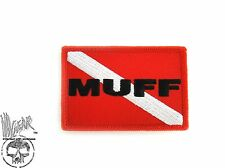 ill Gear MUFF DIVER Patch Hook and Loop BLACK OPS Scuba Diving Cave Commercial