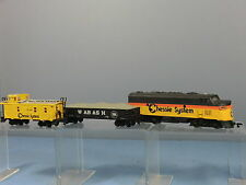 "BACHMANN  MODEL No.xxx   No.7071 ""CHESSIE SYSTEM""  DIESEL  FREIGHT  TRAIN SET"