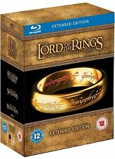 The Lord of the Rings The Motion Picture Trilogy (extended Edition) BLURAY