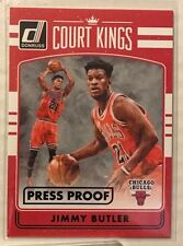 Jimmy Butler 2016-17 Donruss Court Kings BLACK Press Proof #'d 1/1 - BULLS