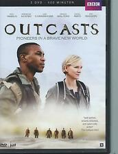 DOUBLE / 2 DVD box - OUTCASTS - BBC / SF series 1 REGION 2