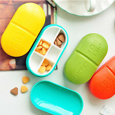 New Tablet Pill Storage Box Medicine Organizer Container Holder Case Health Care