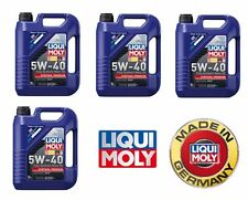 20-Liters Lubro Moly Synthoil Full Synthetic Motor Oil 5W-40 2041 NEW