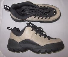 Oakley by SALOMON  Hiking Boots Sz 7 Womens 38 EU Tan Black Suede EUC