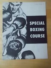 "JOE WEIDER ""Special Boxing Course"" bodybuilding muscle program 1959"
