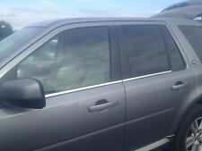 LAND ROVER FREELANDER 2,WINDOW STRIPS,CHROME STAINLESS STEEL, 07 - 10.