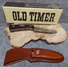 """SCHRADE OLD TIMER SHARPFINGER GUTHOOK SKINNER 7 1/4"""" HUNTING KNIFE 158OT NEW"""
