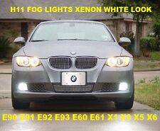 5000K HID Look Fog Light Bulbs Fits E90 E91 E70 E92 E93 E60 E61 Z4 X1 X3 X5 Z4