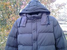 NIKE Goose Down brown Puffy Jacket Boys or Girls sz Large