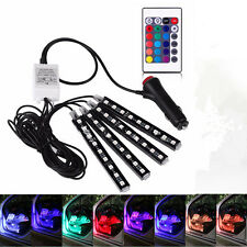 Universal Full Color 12V Car Interior 36 LED Atmosphere Lights Decoration Lamp