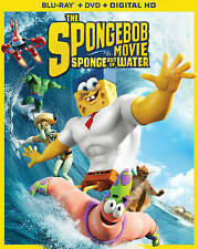 SpongeBob Squarepants Movie Sponge out of Water Blu-ray DVD + Digital HD