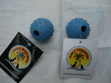 Bouncy Rubber Ball with Bell. Paws Paradise + Plutos Pets Quality Pet Toys!!!