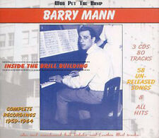 BARRY MANN - Inside the Brill Building - 3 CD Set 80 Tracks