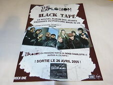 THE EXPLOSION - Publicité de magazine / Advert BLACK TAPE !!!!!