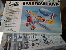 CURTISS SPARROWHAWK+CAUDRON RACE 1/32 SCALE  WILLIAMS BROS MODEL