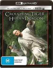 Crouching Tiger, Hidden Dragon (UHD/UV) NEW B Region Blu Ray